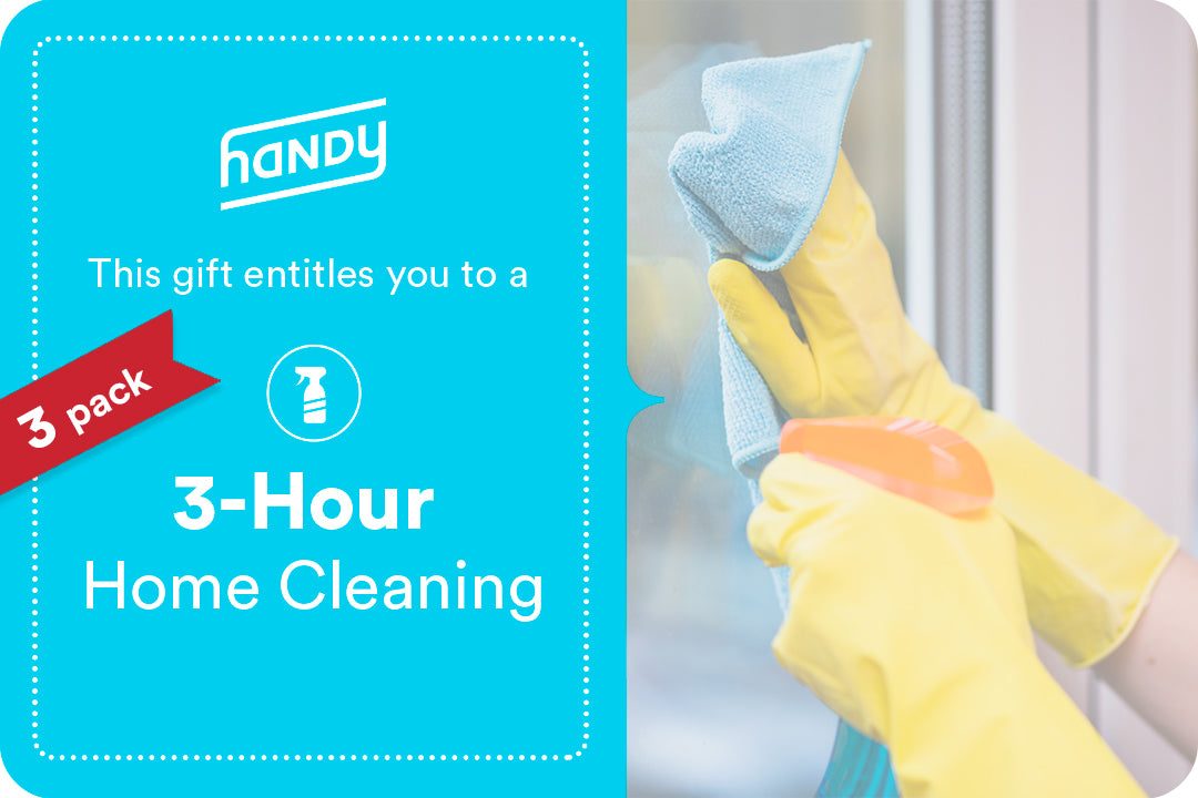 Three 3-Hour Cleanings