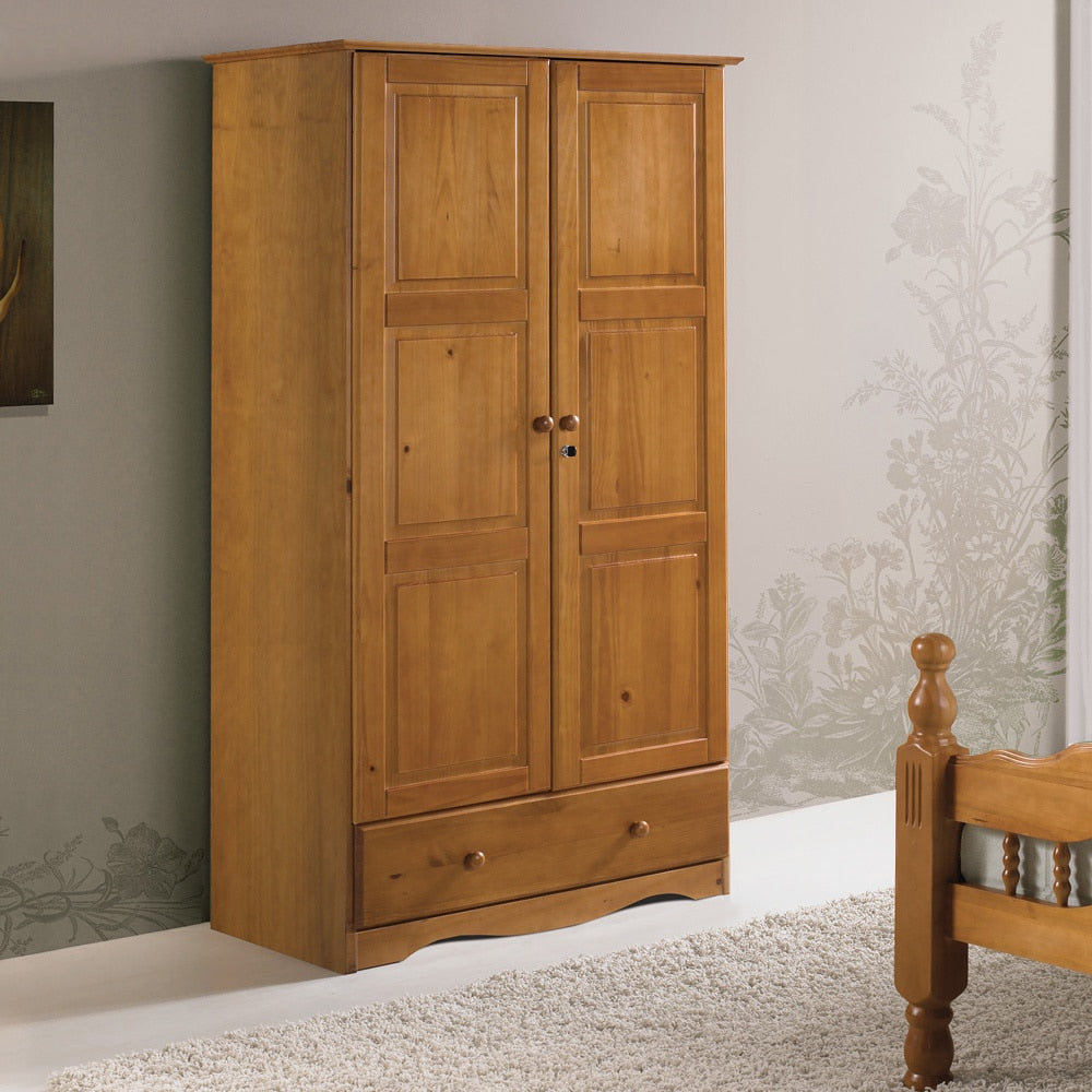Solid Wood Customizable Wardrobe