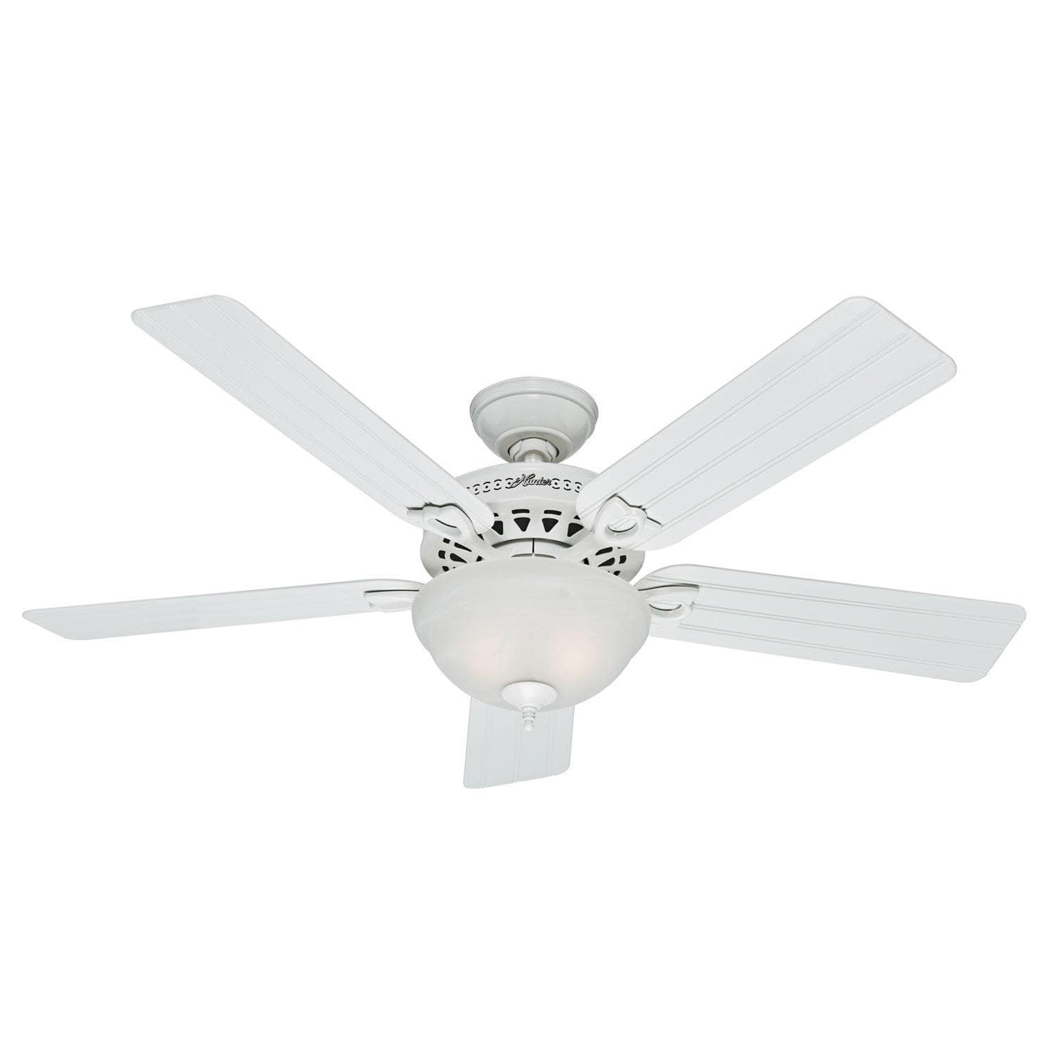 52-Inch Beachcomber White Metal/Plastic Ceiling Fan