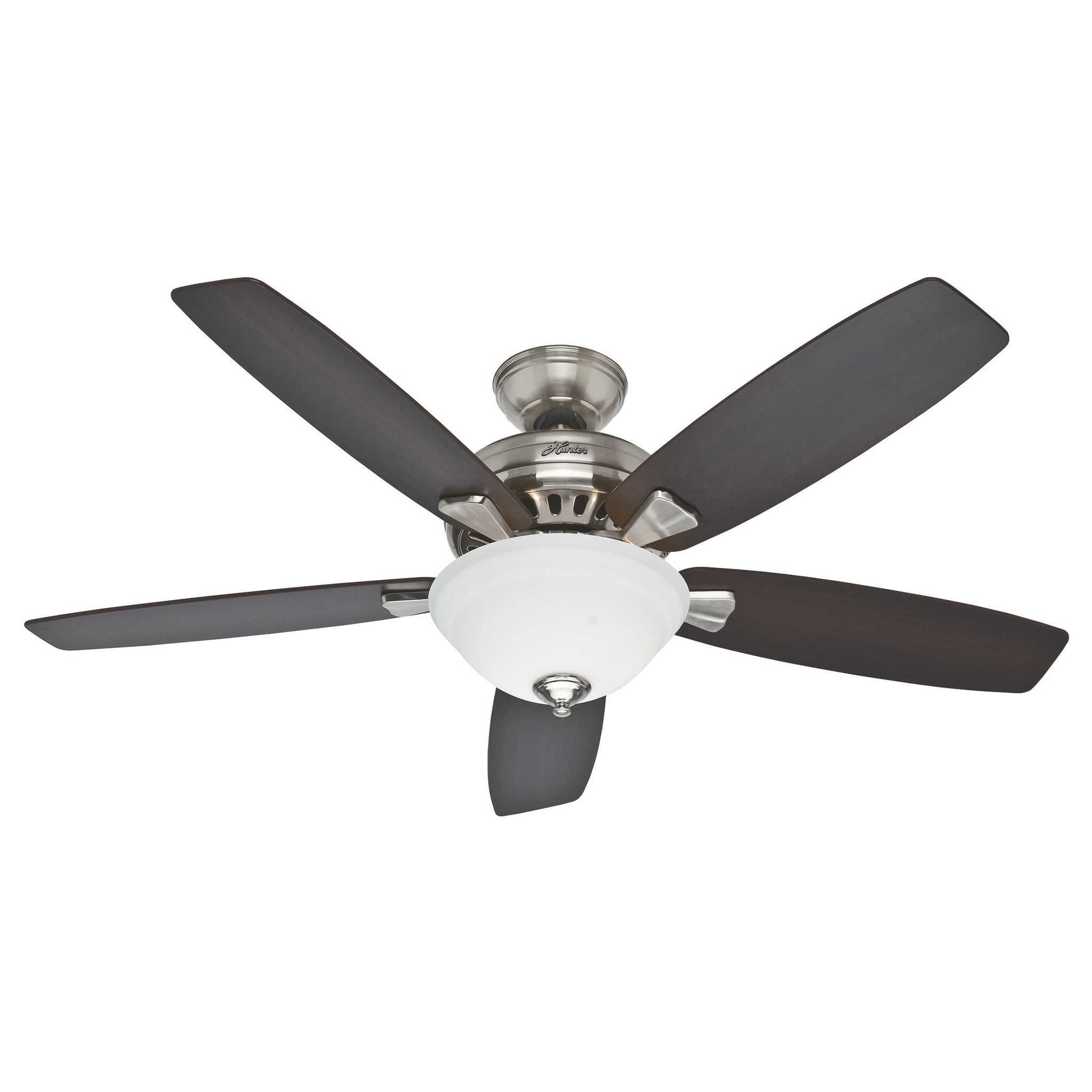Wood and Metal 52-Inch Ceiling Fan