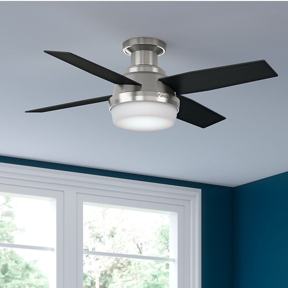 44-Inch Low-Profile Reversible Blades Ceiling Fan