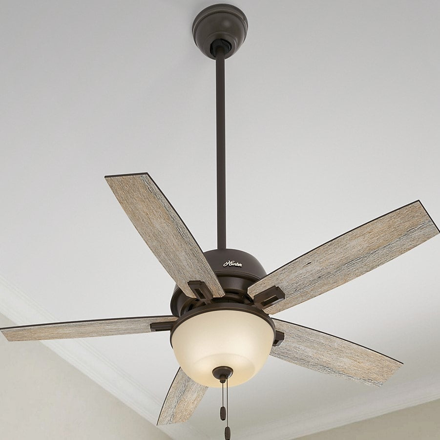 Onyx Bengal Finish 52-Inch Reversible Ceiling Fan