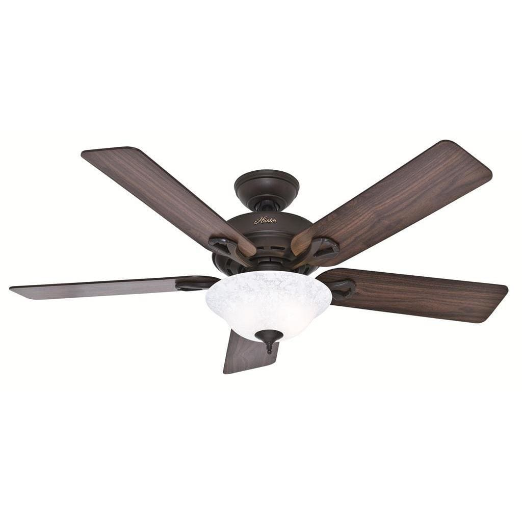52-Inch Brown Ceiling Fan