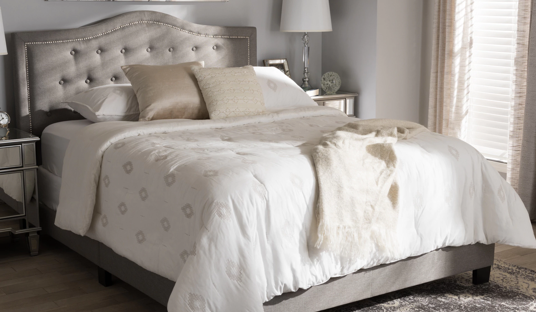 Sterling Contemporary Upholstered Bed
