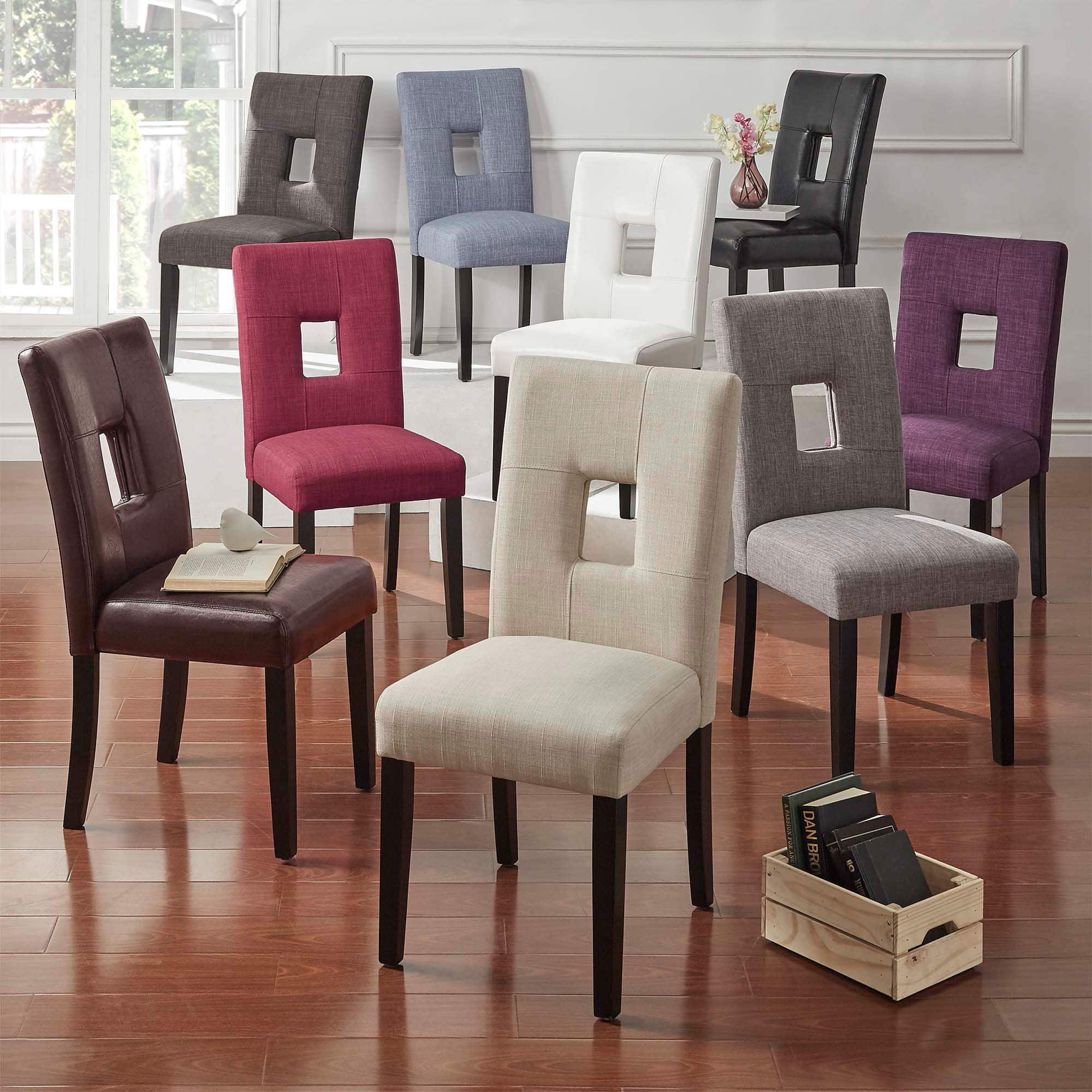 Keyhole Back Dining Chairs