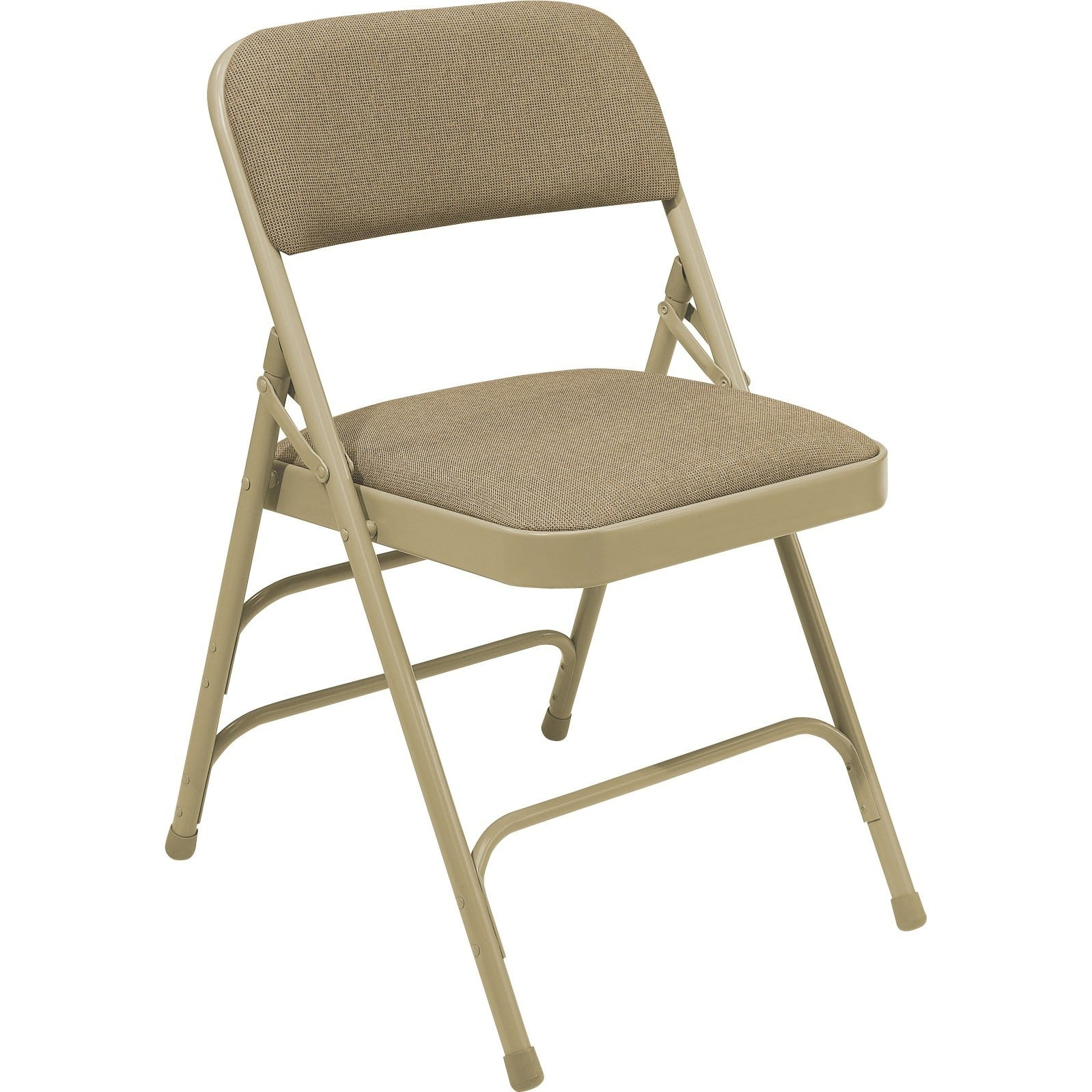 Fabric Upholstered Premium Reinforced Folding Chairs (Pack of 4)