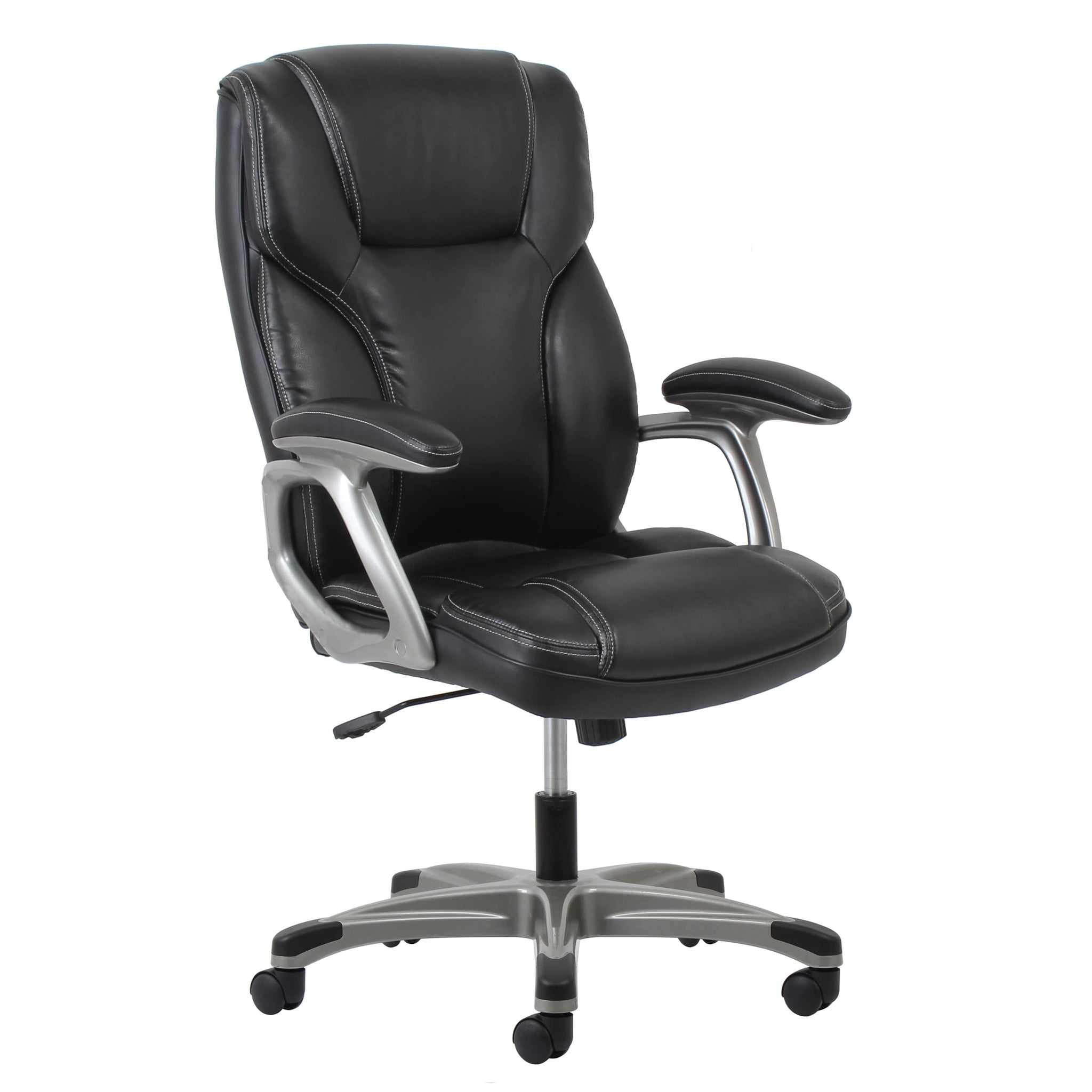 Leather Office Chair with Lumbar Support  sc 1 st  Handy & Leather Office Chair with Lumbar Support | Handy