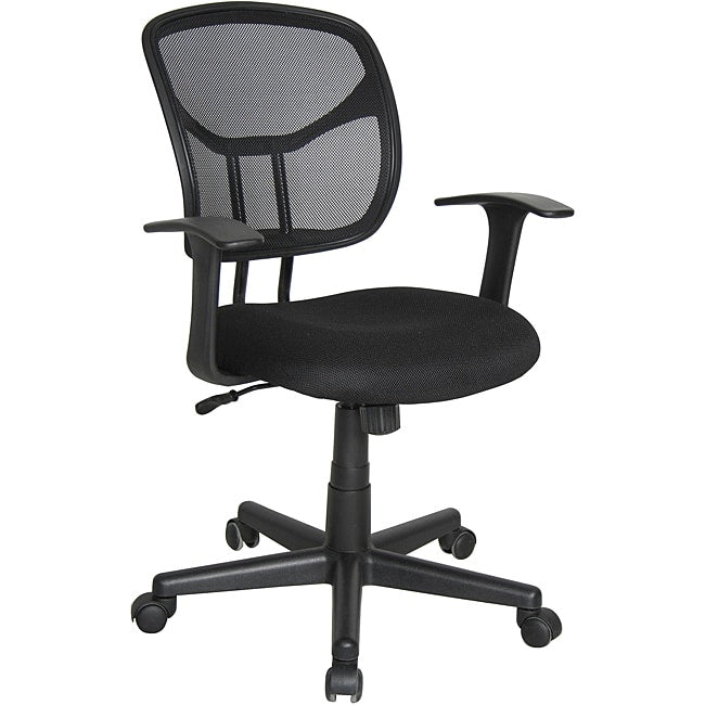 Computer and Task Chair