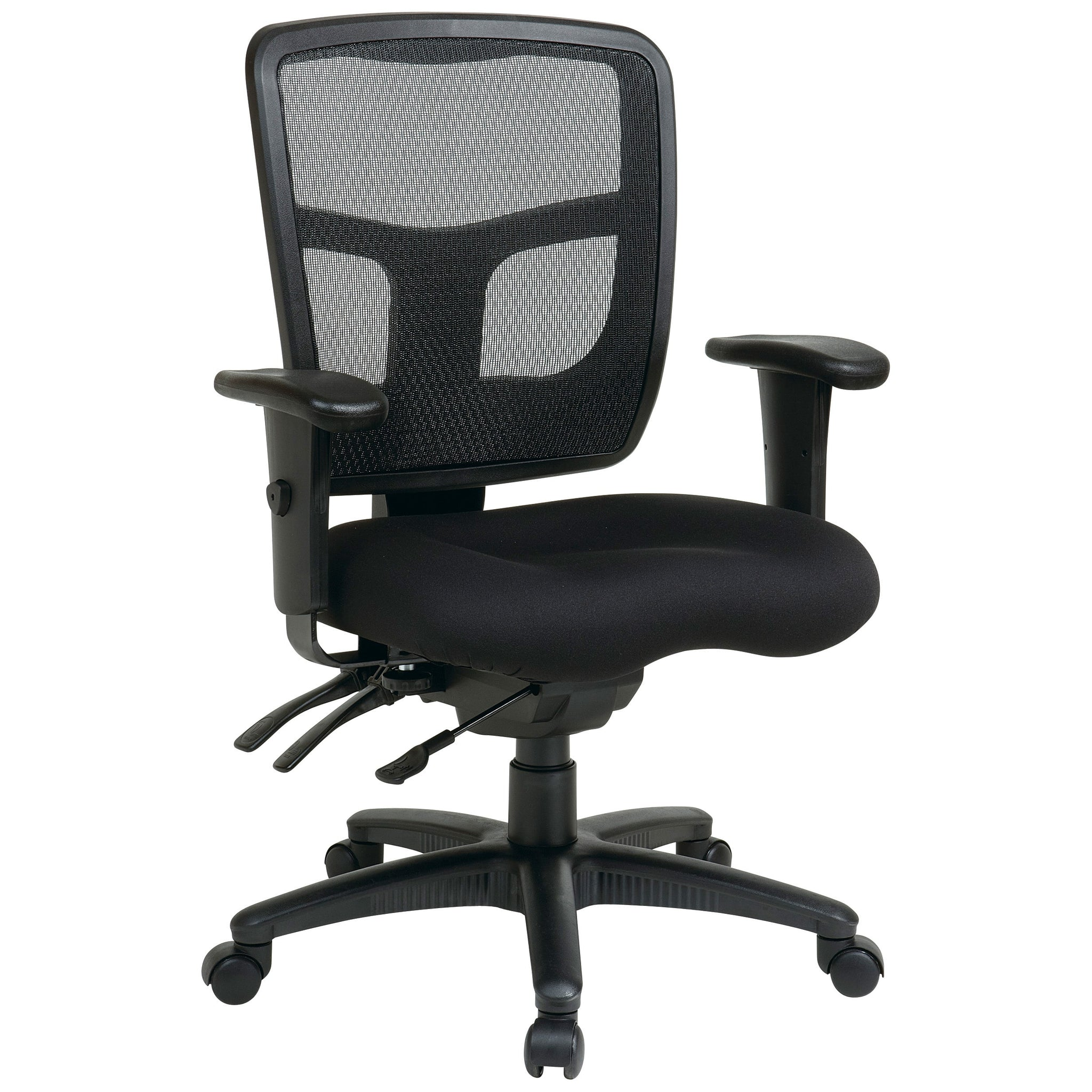 Breathable Ratchet Back Office Chair