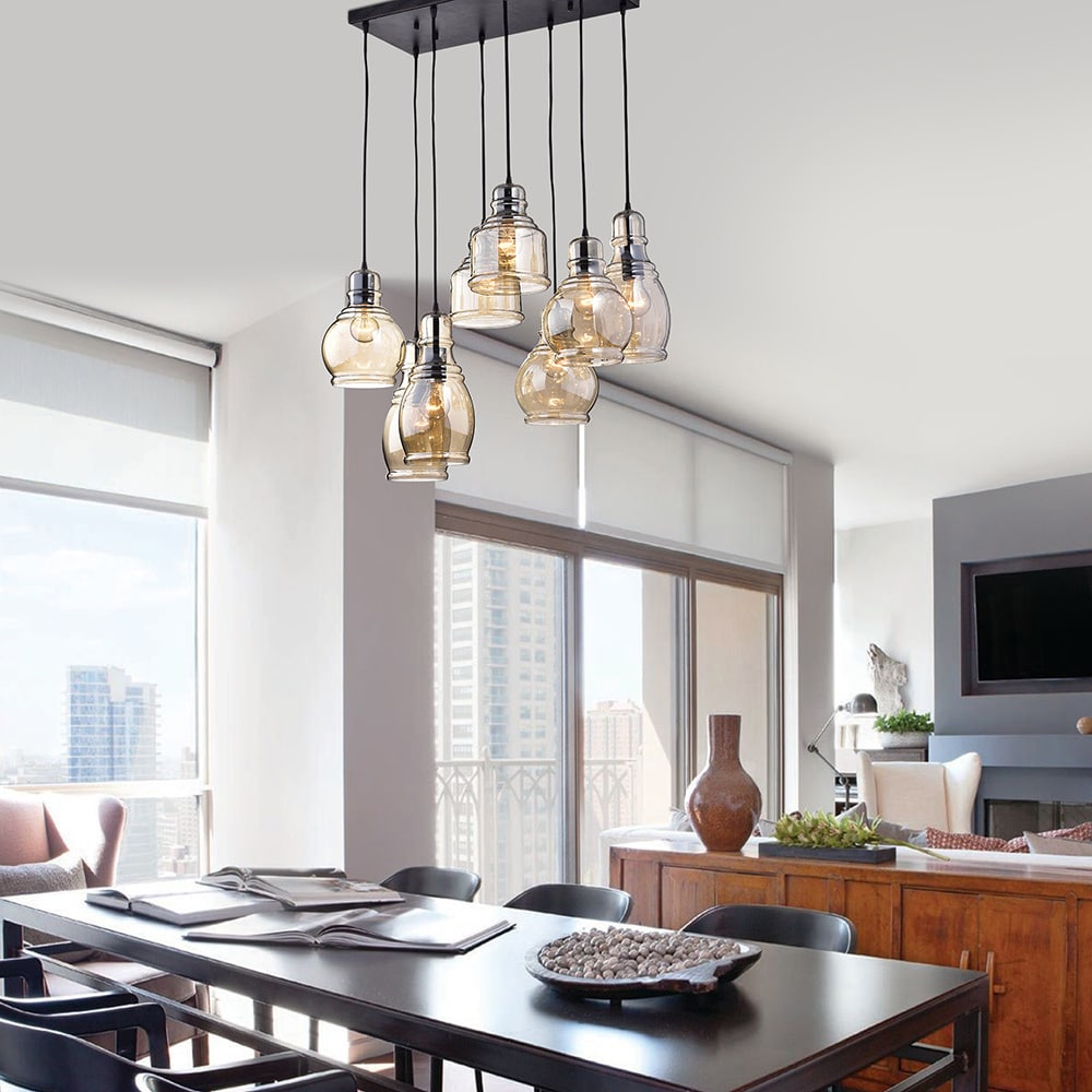 Antique Glass Pendant Lights