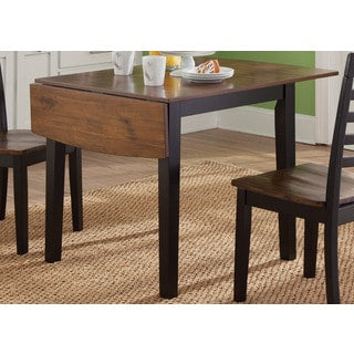 Black Cherry Finish Drop Leaf Dinette Table