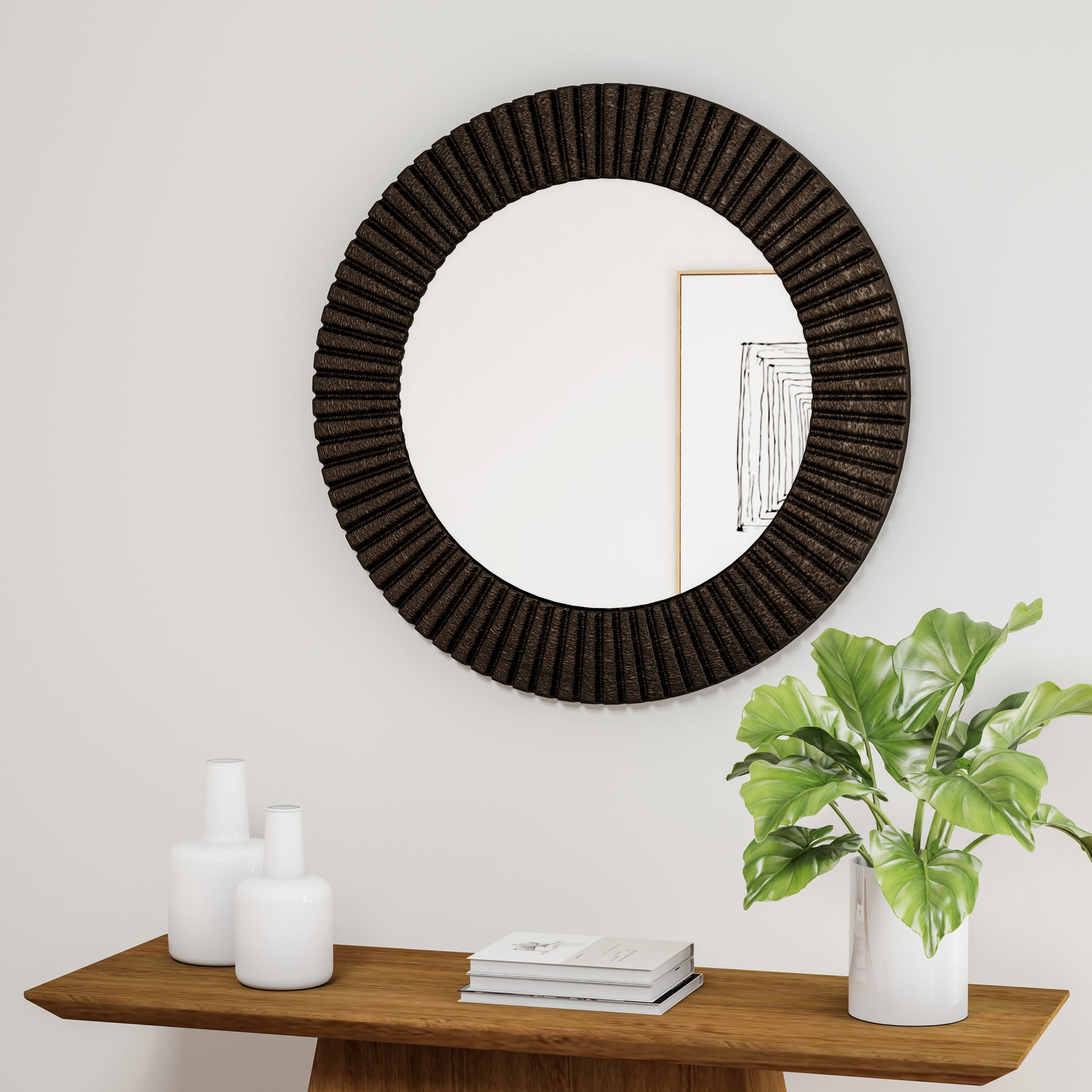 Bronze Wall Mirror | Handy