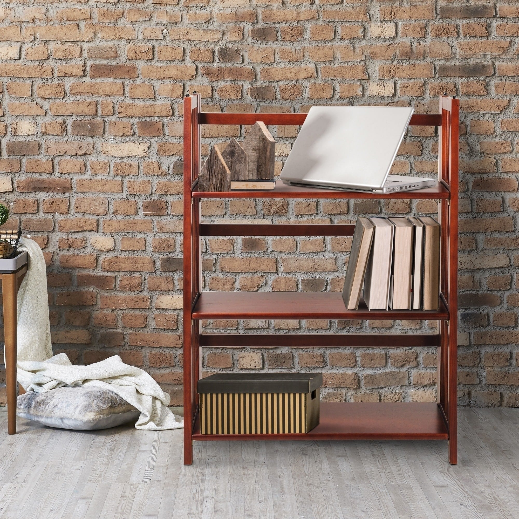 Folding Stackable Bookcase