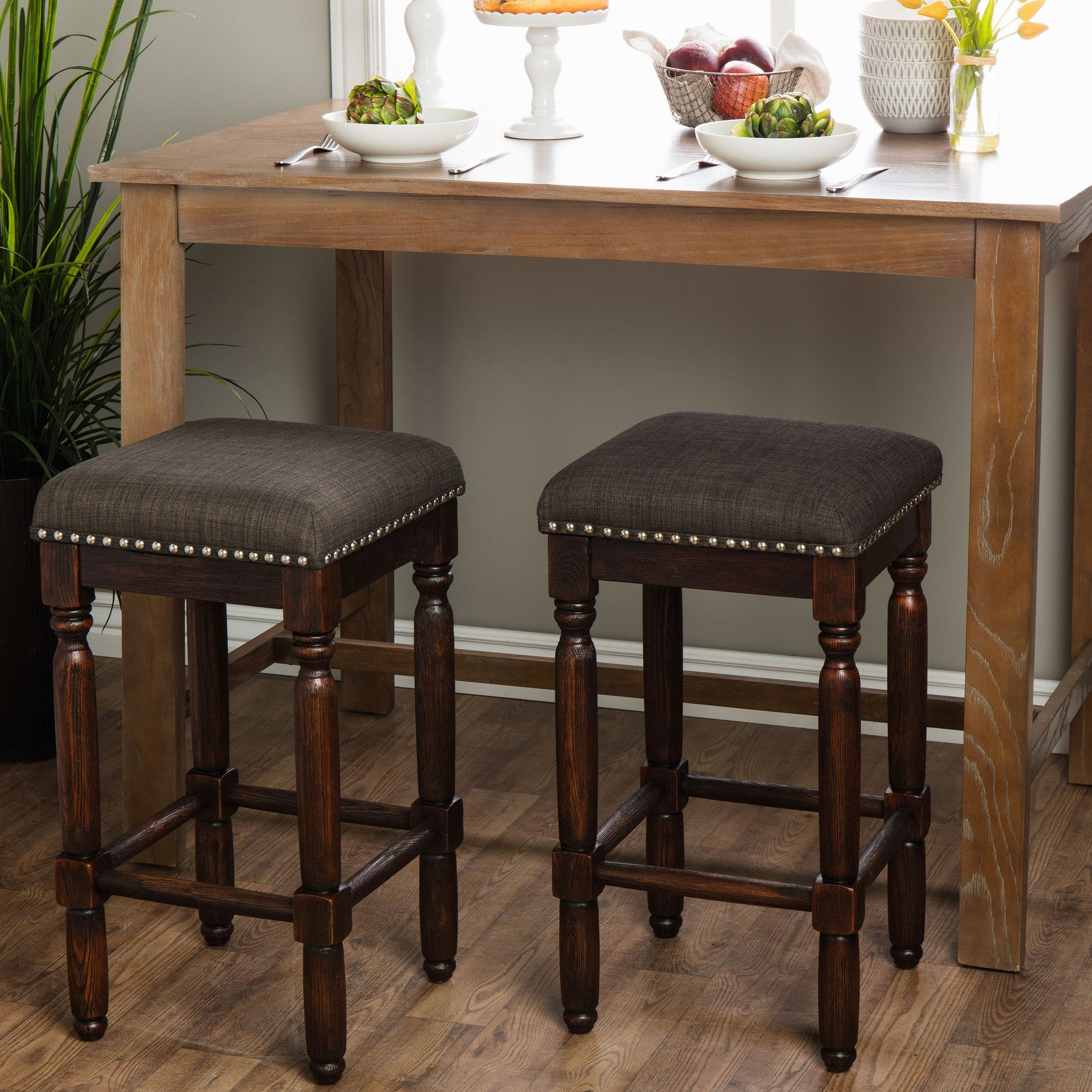 Coffee Counter Stools (Set of 2)