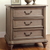 Rustic Grey Two-drawer Nightstand
