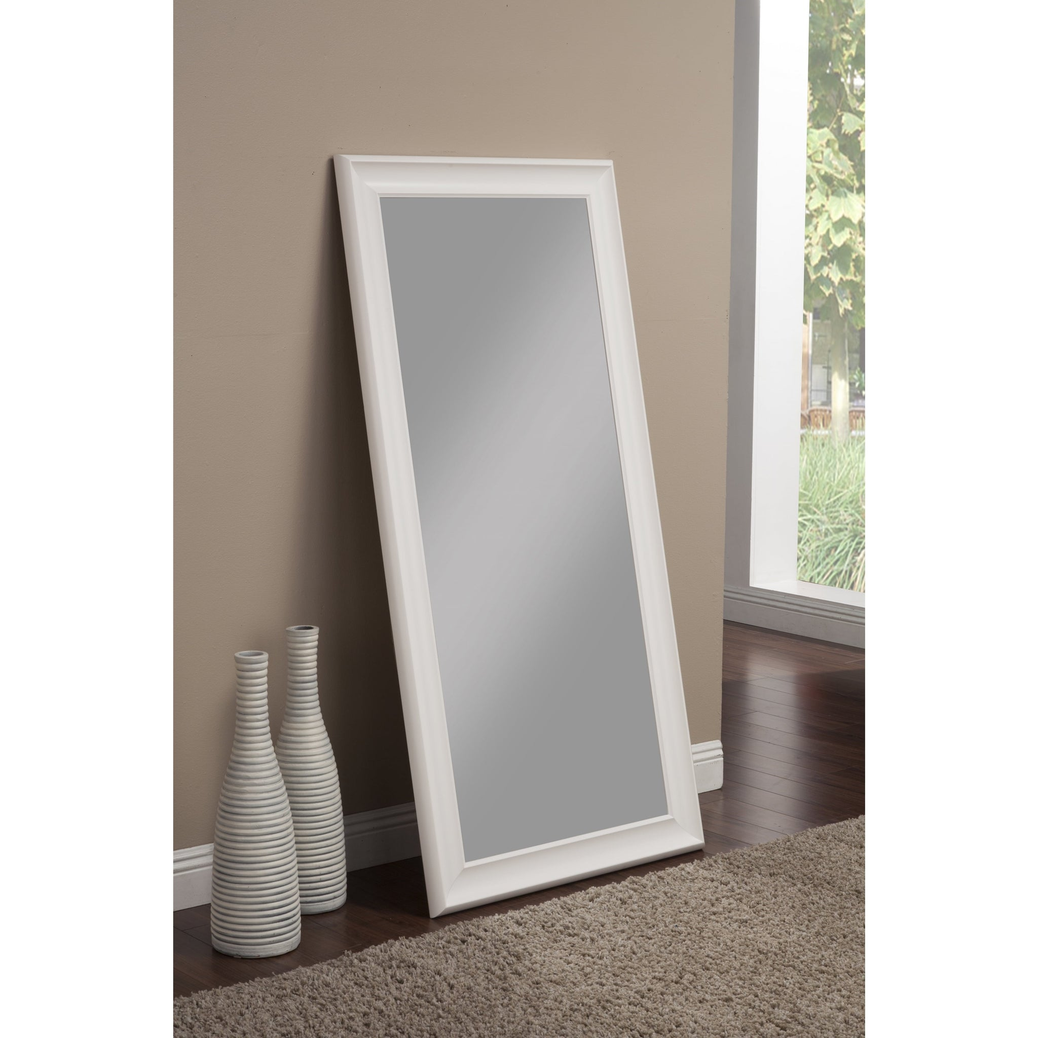Frost White Full-Length Leaner Mirror