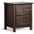 Shaker Two-drawer Solid Wood Nightstand