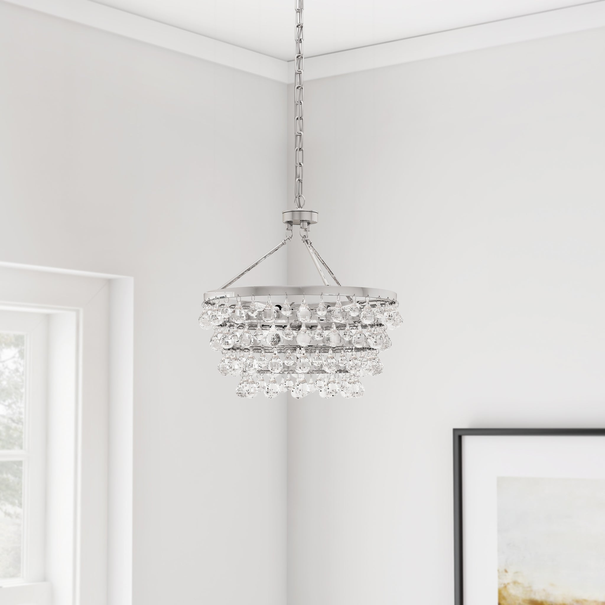 Indoor Five-Light Luxury Crystal Chandelier