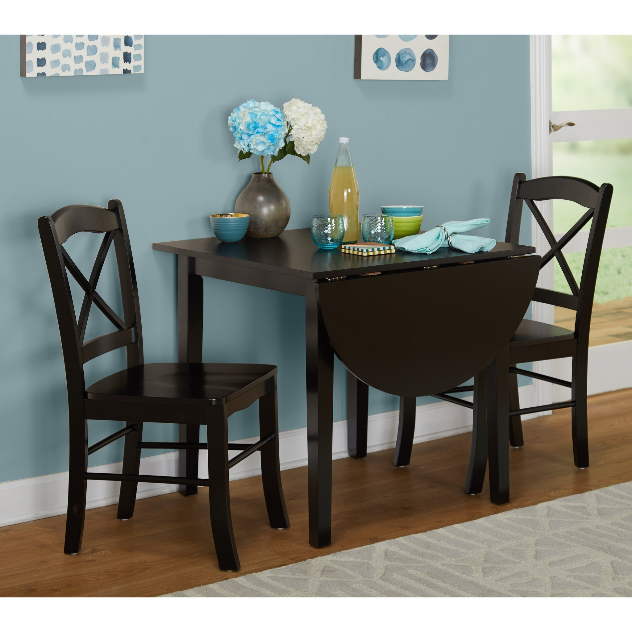 Charmant Three Piece Country Cottage Dining Set