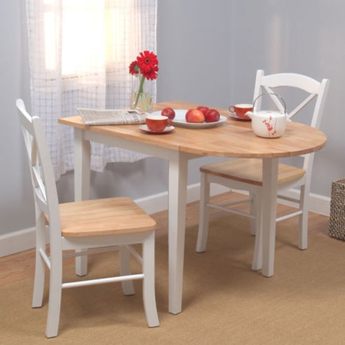 Drop Leaf Three-Piece Dining Set