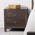 Two-drawer Solid Wood Nightstand