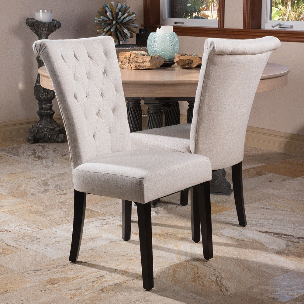 Venetian Tufted Dining Chairs