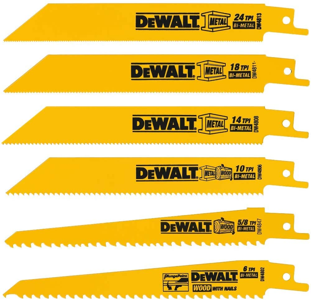 Saw Blades - Reciprocating - 24  Blades (Product Only, No Installation)