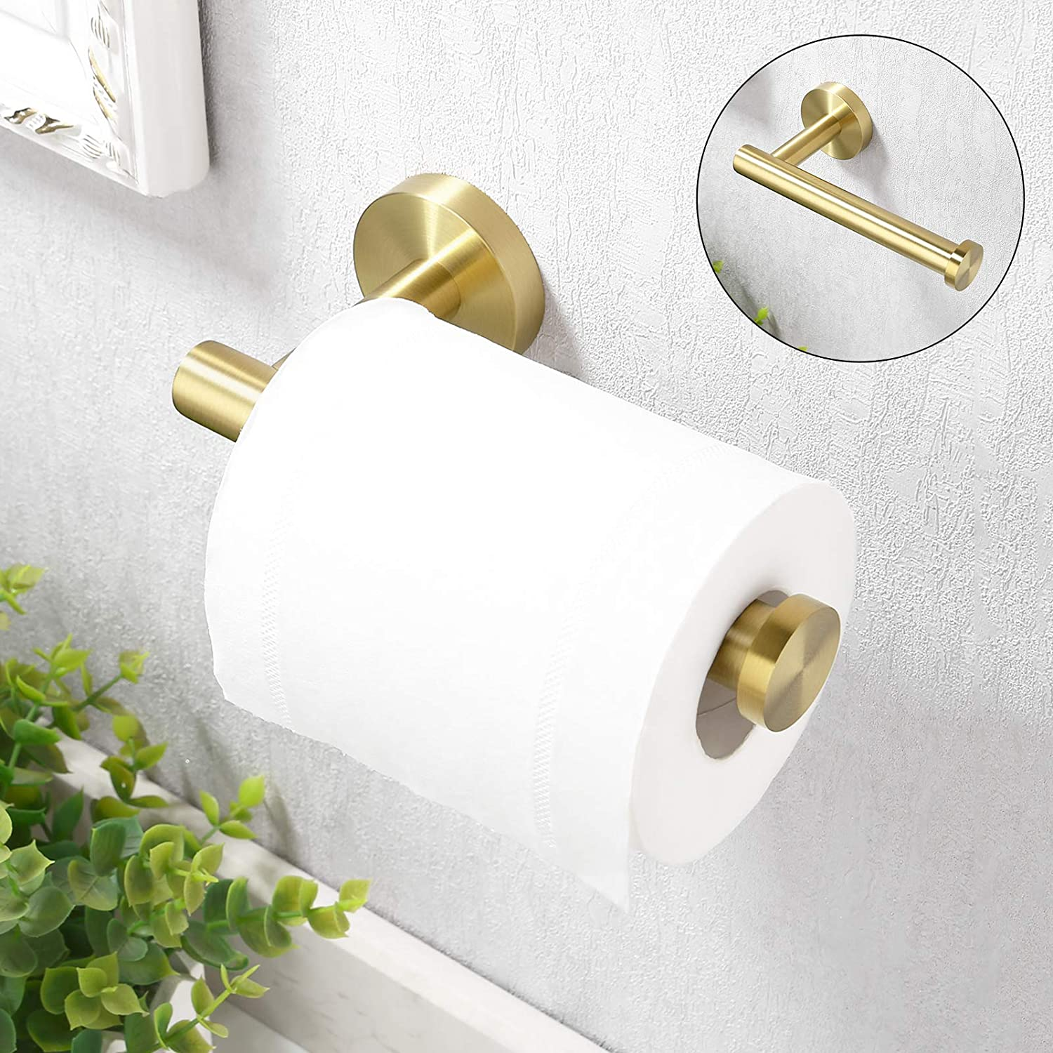 Toilet Paper Wall Mount (Product Only, No Installation)