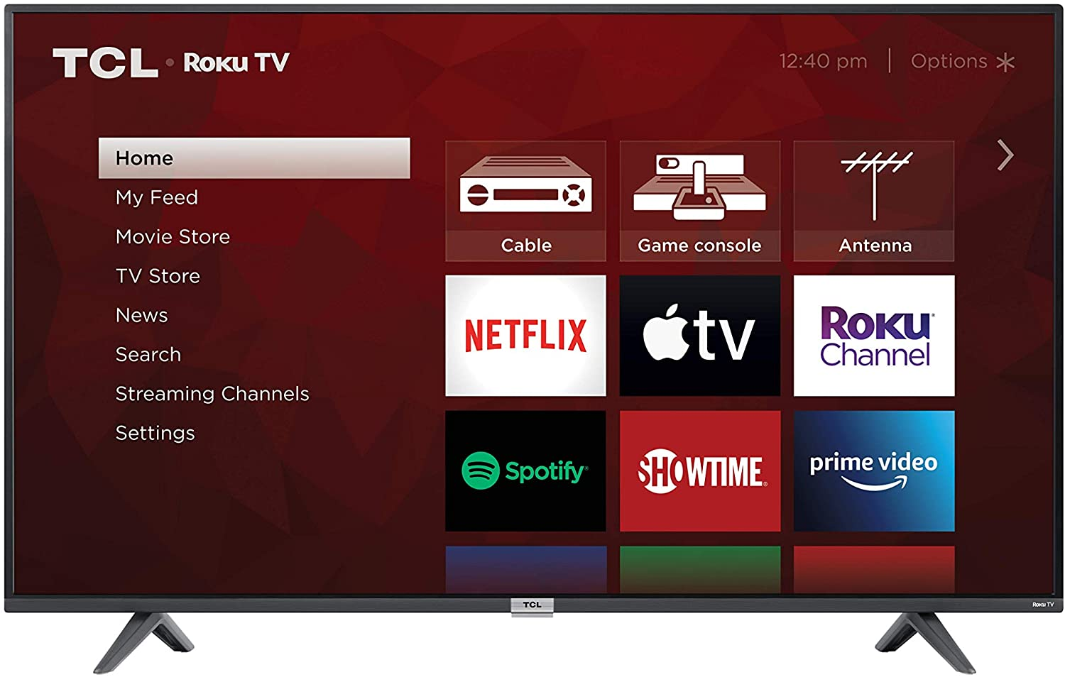 TCL 50-inch 4K UHD Smart Roku LED TV (Product Only, No Installation)