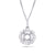 Diamond Pendant For 0.25ct Round Center