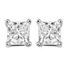 14kw prong diamond studs 1ct, fr1223-4pd