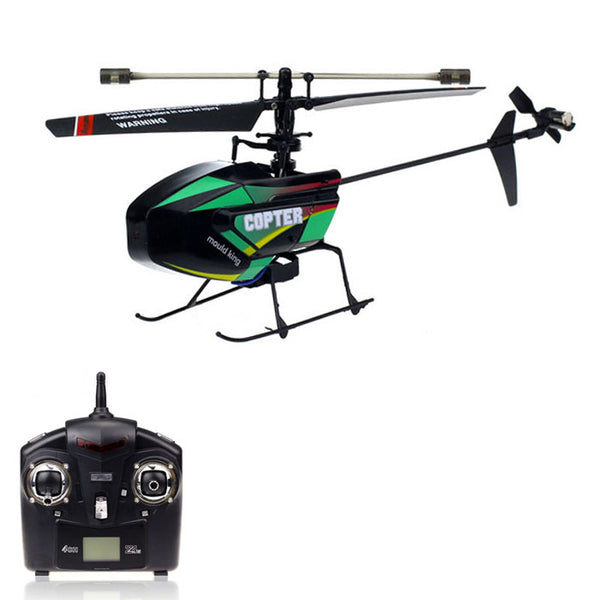 2.4G 4-Channel Remote Controlled Helicopter for Kids Toy