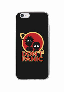 Rick And Morty Soft Clear Phone Case Cover