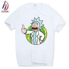 Rick and Morty T-shirt Casual Short sleeve O-Neck