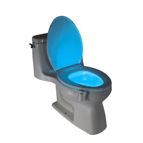 8 Colors LED Toilet Night Light Motion Activated