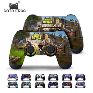 2 Pcs Fortnite Skin Sticker For PS4 Game Controller - Slim