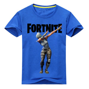 Fortnite Print T-shirt Boy / Girls 100%Cotton