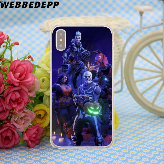 los angeles b050d 2c9f0 Fortnite Case for Apple iPhone X or 10 8 7 6 6S Plus 5 5S SE 5C 4 4S