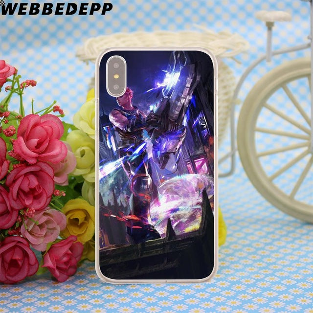 competitive price ebc75 9f811 Fortnite Case for Apple iPhone X or 10 8 7 6 6S Plus 5 5S SE 5C 4 4S ...
