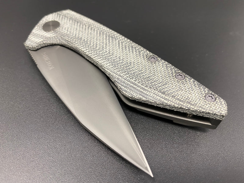 Mini Goblin Black Micarta Fully Polished DLC