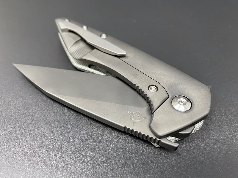 Mini Goblin Black Micarta Polished DLC Blade