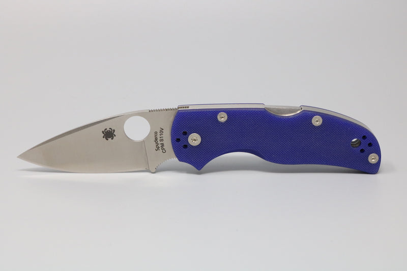 Spyderco NATIVE 5 G-10 MIDNIGHT BLUE CPM S110V