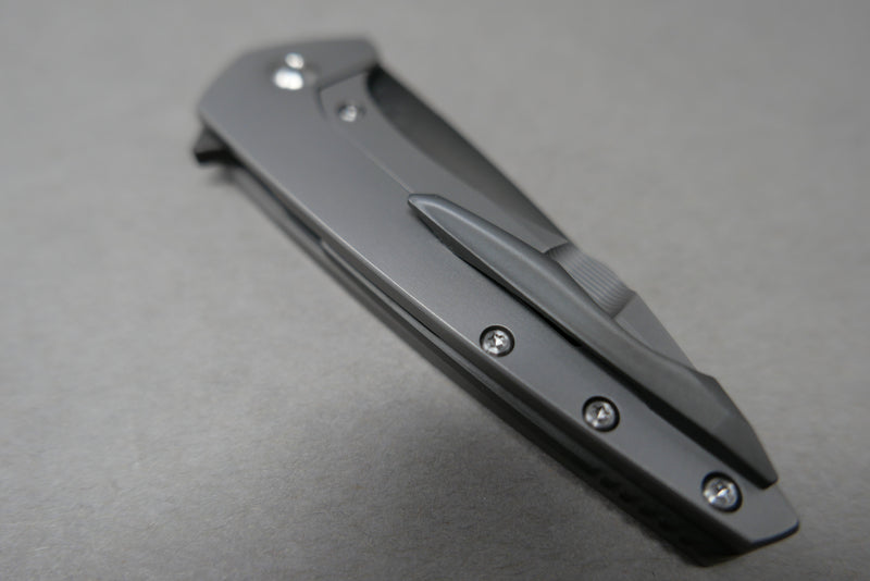 Mini Goblin Polished DLC Blade Backspacer & Clip Polished Hardware