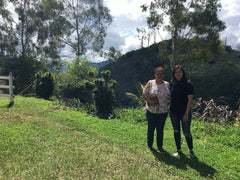 Vanessa and Maira sustainable coffee