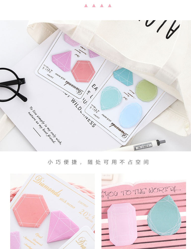 Diamond Sticky Notes
