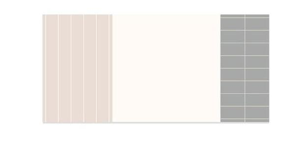 Basic Color Palette Memo Pad Sticky Notes