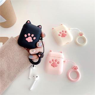 Black Cat Paw Air Pod 2 Cover