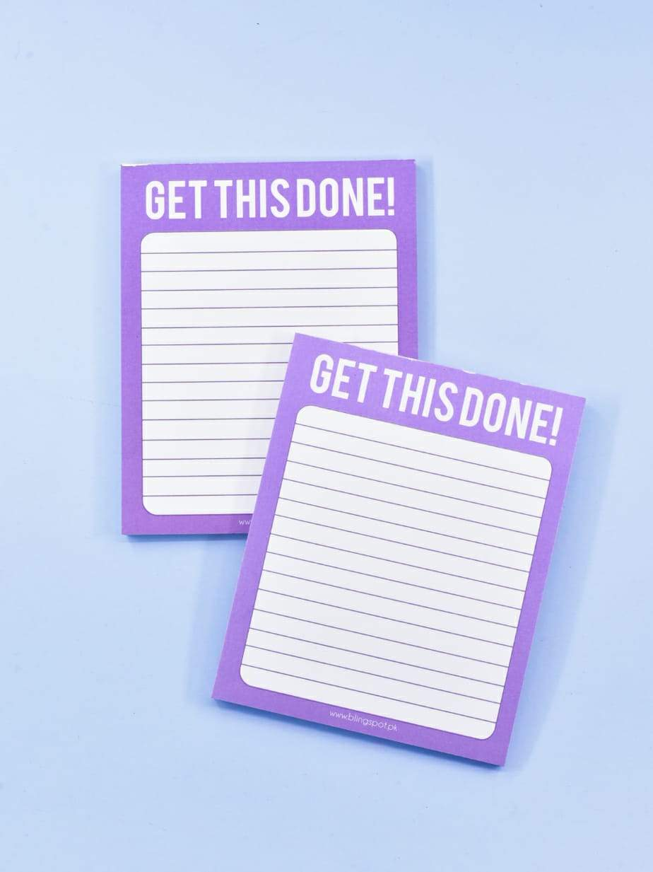 Get This Done - Notepad