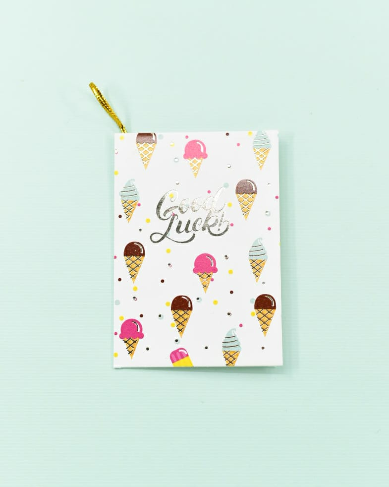 Good Luck! (Ice cream) - Gift Card