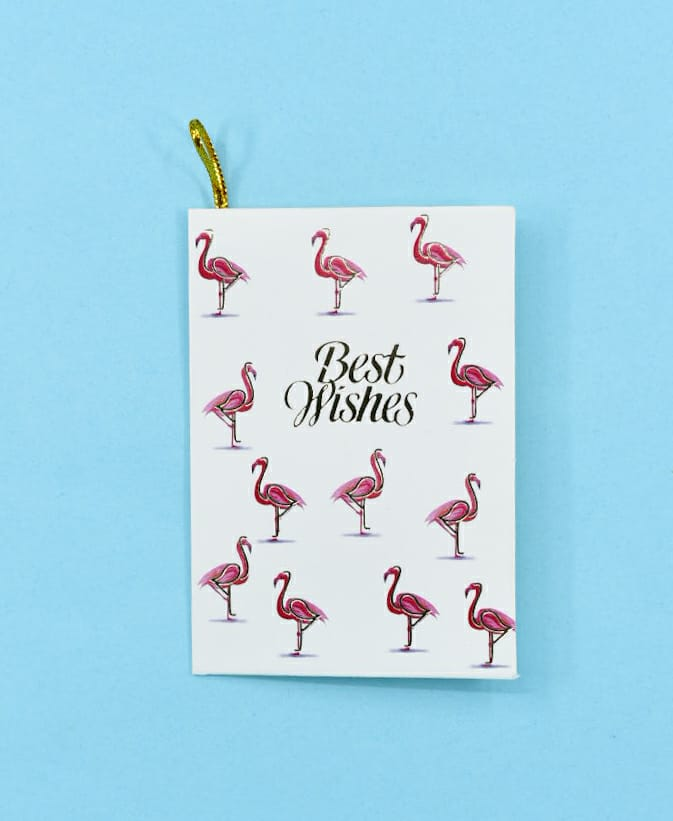 Best Wishes (Flamingo) - Gift Card